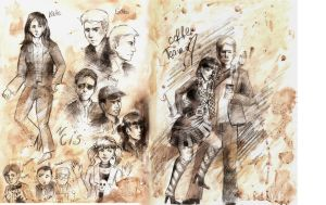 NCIS sketchbook by SirSubaru