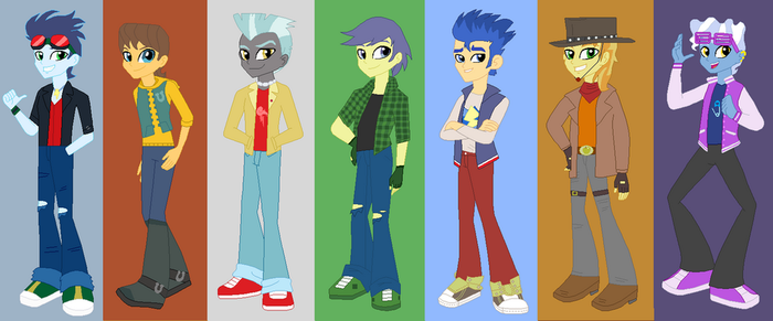 MLP Friendship Through The Ages The DriveBolts by OwletBrigthness