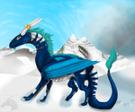 Winter Mountains by metal-beak
