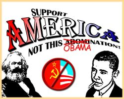 Support America not Obama by wimpyBob