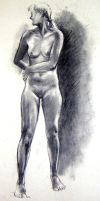 standing nude2 by huy-truong