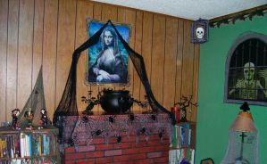 Halloween Mantle by Rachelevans1013