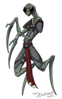 mantis alien by agenza