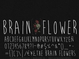 Brain Flower : A Font by deathmunkey