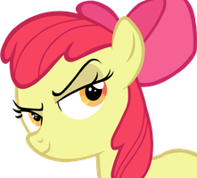 Dat Look Applebloom by FreeFraQ