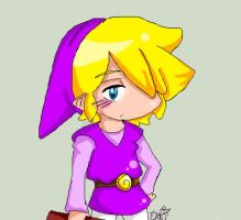 violet link oah by YerBlues99