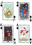 PMD-E Cards - Face Cards (Spade) by TheGoldenPika