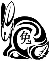 ..::Chinese Zodiac::..Rabbit by DaRkRaVeNsTeAr