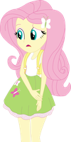 Vector - EqG Fluttershy by SketchMCreations
