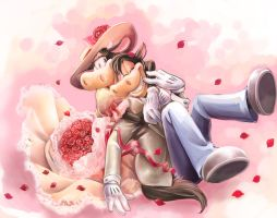 Horace and Clarabelle2 by Natsu-Nori