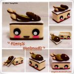 Cute Biscuit Cake Box by SongAhIn