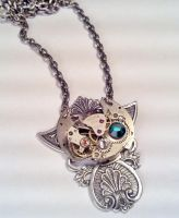 Steampunk Emperoress Necklace by SteamDesigns