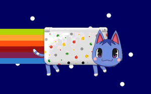 Nyan Cat: Animal Crossing Style by Lucent85