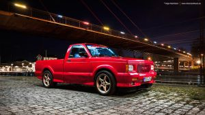 Red Sports Truck by AmericanMuscle