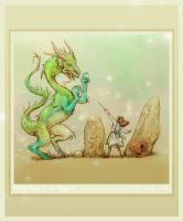 Edith May and the Dragon by betta-girl