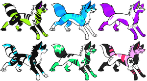 Canine Adoptables [Open] by Mulch-Adopts