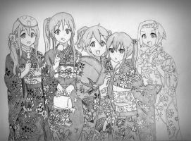 K-ON (WIP) by BetaSix