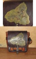 Archaeopteryx field bag by danaan-dewyk