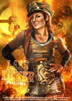 Becky Lynch Poster 2016 by SidCena555