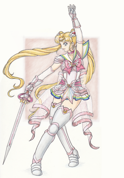 Holy Warrior Sailor Moon by Enkai