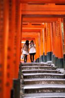 Fushimi Inari Shrine by HampusAndersson