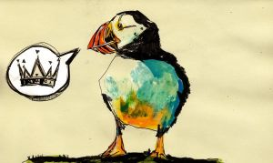 Huffing and Puffin by GregoryStephenson