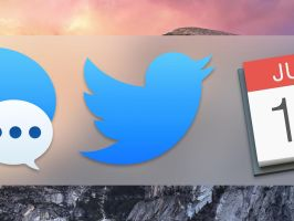 Twitter App Icon for OS X Yosemite by antonio1zamudio