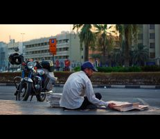 Morning Paper by MARX77