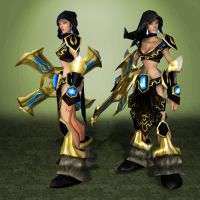League of Legends Sivir by ArmachamCorp