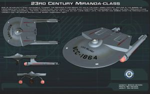 23rd Century Miranda Class ortho [New] by unusualsuspex