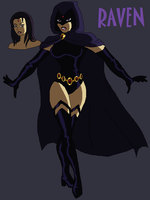DC Universe: Raven by AMTModollas