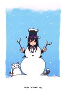 Homu, the snowman by 79Silver