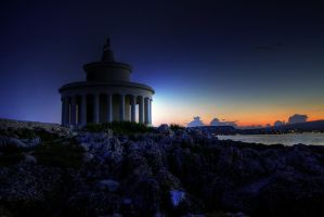 Lighthouse at Sunset by artisticmind