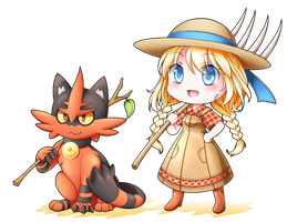 10/02/2017 Nanami and Torracat [CM] by kyddstatic