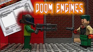 GEEKGO Episode 16 DOOM ENGINES Title Card by Digger318