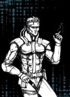 Solid Snake by ShittyHoliness