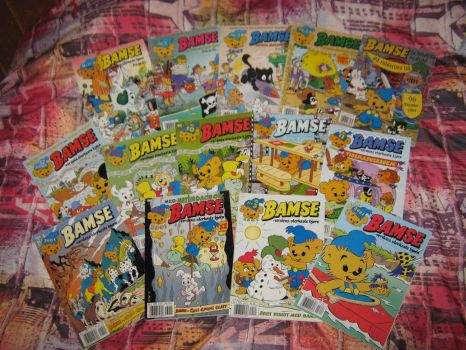 My Bamse comics collection by MortenEng21