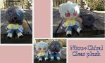 Nitro+Chiral Clear plushie by Laurel-Lion