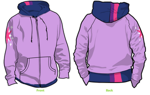 MLP FiM hoody design by MSLynk