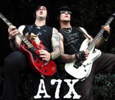 A7X - Syn and Zacky 2 by TheCorruptorOfMinds
