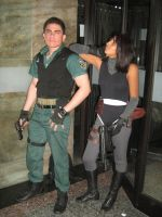 Chris from re and Regina from Dc by Chris--Redfield