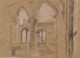Architecture sketch 001 by WillWorks
