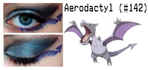 Pokemakeup 142 Aerodactyl by nazzara
