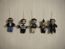 The Slants handmade charms 2 by ChibiSayuriEtsy