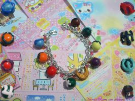 Sailor Senshi Charm Bracelet by Demi-Plum