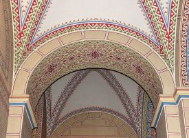 Pretty Patterns Inside the Church 2 by AgiVega