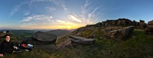The peak District HDR panorama by Captain-Marmote