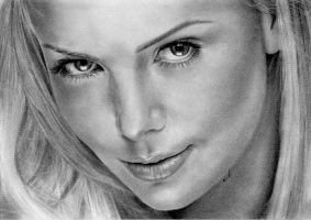 Charlize THERON by Sadness40