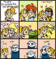 SMOOCH TOWN Population: CHRONO TRIGGER by maggiekarp