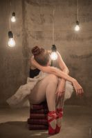 The red shoes 1 by BorjaPascual